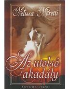 Az utolsó akadály - Moretti, Melissa