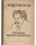 Válogatott irodalmi tanulmányok - Móricz Zsigmond
