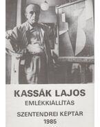 Kassák Lajos emlékkiállítás - Mucsi András