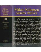 Mulatságos napok és más fordítások - Mikes Kelemen