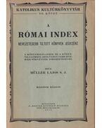A római index - Müller Lajos