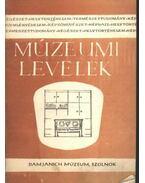Múzeumi levelek 37-38. sz.