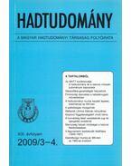 Hadtudomány XIX. évfolyam 2009/3-4. - Nagy László