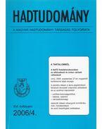 Hadtudomány XVI. évfolyam 2006/4. - Nagy László