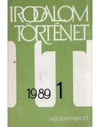 Irodalomtörténet 1989/1 - Nagy Péter, Tarnóc Márton