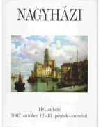 Nagyházi Galéria és Aukciósház 140. aukció
