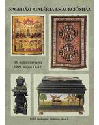 Nagyházi Galéria és Aukciósház 35. műtárgyárverés