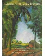 Nagyházi Galéria és Aukciósház 39. festményárverés