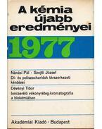 A kémia újabb eredményei 1977/34. - Nánási Pál, Szejtli József, Dévényi Tibor