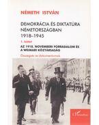 Demokrácia és diktatúra Németországban I. - Németh István