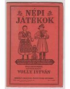 Népi játékok I-III. - Volly István