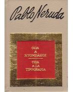 Óda a nyomdához (mini) - Neruda, Pablo