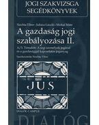 A gazdaság jogi szabályozása II. - Nochta Tibor, Juhász László, Mohai Máté