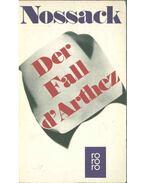 Der Fall d'Arthez - Nossack, Hans Erich