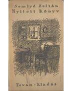 Nyitott könyv - Somlyó Zoltán