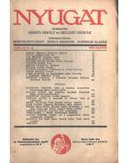 Nyugat 1935 XXVIII. évf. 8.szám - Babits Mihály, Gellért Oszkár