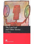 The Last Leaf and Other Stories - Level 2 - Beginner - O'Henry