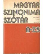 Magyar szinonimaszótár A-Zs - O. Nagy Gábor, Ruzsiczky Éva
