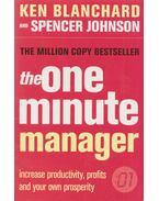 The One Minute Manager - Ken Blanchard, Johnson, Spencer
