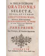 Orationes selectae - Marcus Tullius Cicero