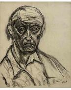 Férfi portré (Önarckép), 1961 - Orbán Dezső