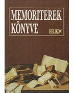 Memoriterek könyve - Osztovits Szabolcs, Turcsányi Márta