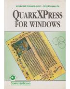 QuarkXPress for Windows - Ozsváth Miklós, DR.KOVÁCSNÉ COHNER JUDIT
