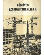 Kőműves szakmai ismeretek II. - Pados Antal