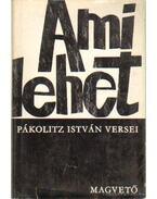 Ami lehet (aláírt) - Pákolitz István