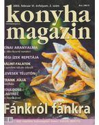 Konyha magazin 2003. február - Pákozdi Judit
