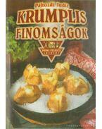Krumplis finomságok - Pákozdi Judit