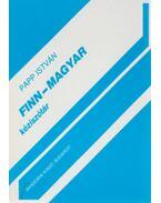 Finn-magyar szótár - Papp István