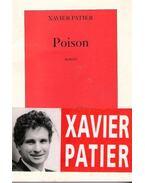 Poison - PATIER, XAVIER