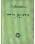 Magyar-eszperantó szótár - Pechan Alfonz