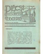 Pécsi katolikus tudósitó 1934. XII. évf. november