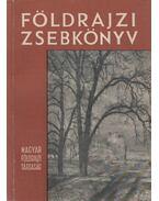 Földrajzi zsebkönyv - XI. évfolyam - Pécsi Márton, Miklós Gyula, Tóth Aurél
