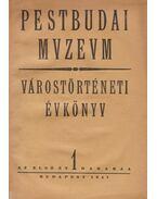Pestbudai Muzeum - Várostörténeti évkönyv I. évf. - Rexa Dezső