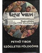 Szögletes földgömb - Pethő Tibor