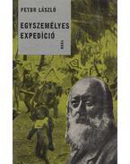 Egyszemélyes expedíció - Petur László