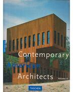 Contemporary American Architects Volume II. - Philip Jodidio