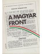 A Magyar Front - Pintér István, Sipos Attila (szerk.), Kállai Gyula