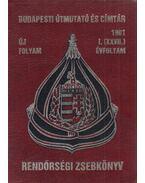 Budapesti útmutató és címtár 1991 - Rendőrségi zsebkönyv - Pintér Sándor