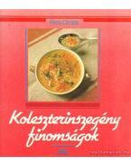 Koleszterinszegény finomságok - Piros Christa