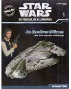 Star Wars Kultikus hajók és járművek 1. - Az Ezeréves Sólyom, Han Solo legendás teherhajója - Póczik Gábor, Ryszard Popiolek