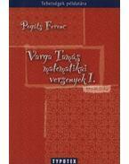 Varga Tamás matematikai versenyek 1. - Pogáts Ferenc