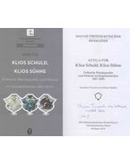 Klios Schuld, Klios Sühne (dedikált) - Pók Attila