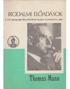 Thomas Mann három regénye - Pók Lajos