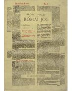 Római jog - Pólay Elemér, Brósz Róbert