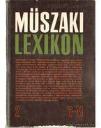 Műszaki lexikon 2. kötet G-M - Polinszky Károly (főszerk.)