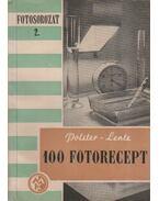 100 fotorecept - Polster Alfréd, Lentz Nándor